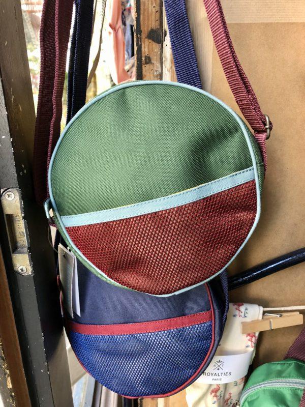 mini sac rond en toile