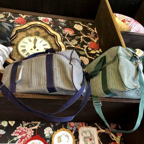 sac voyage en tissu